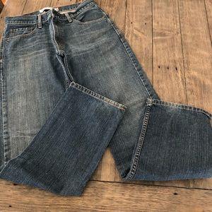 Levi's 505 Straight Fit Jeans Mens 32 X 34 Cotton